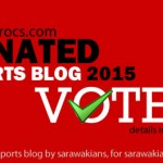 Sarawak based sports blog gets nominated for top blog award!