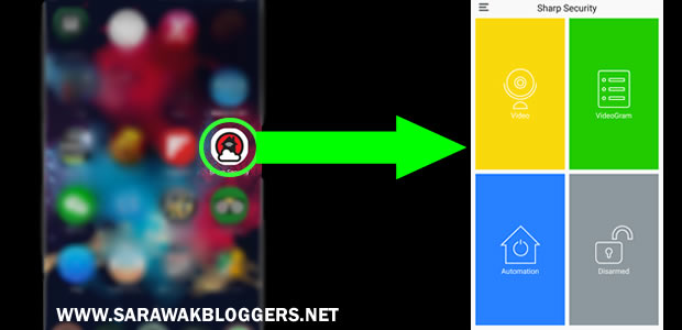How the app icon looks like, and how it looks like when you open it.