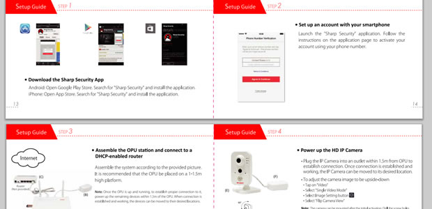 The online manual, easily downloadable here if you lost the provided booklet.
