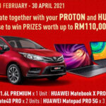 Huawei and Proton contest