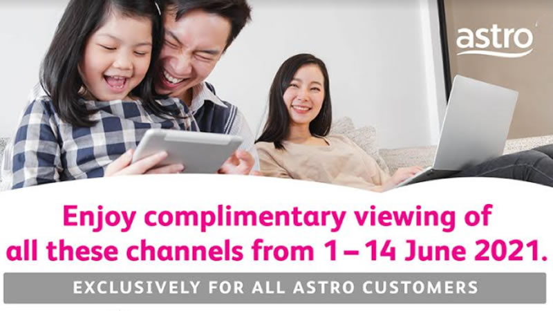 astro channels during lockdown